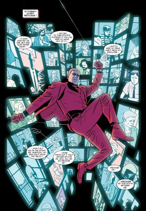 From Daredevil #15 by Chris Samnee