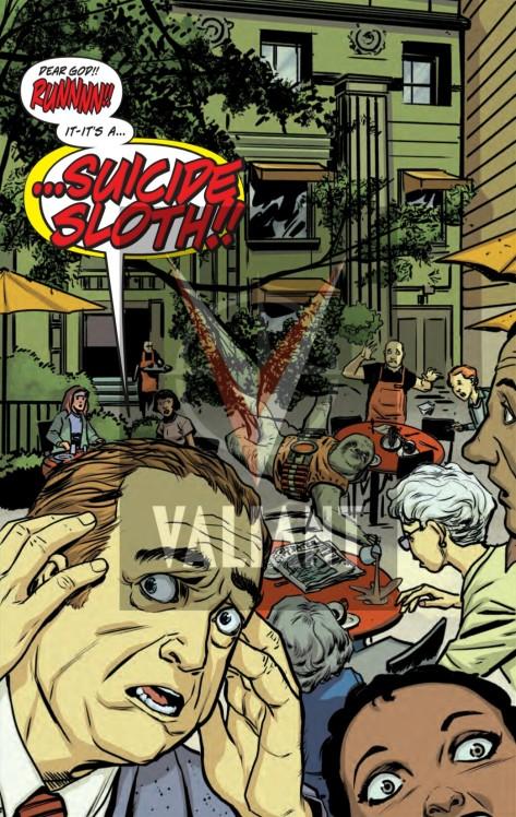 From Quantum & Woody Must Die #4 by Steve Lieber