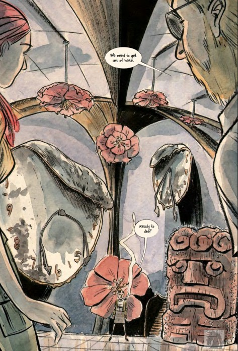 From Mind MGMT #33 by Matt Kindt