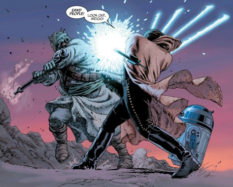 From Star Wars #5 by John Cassady