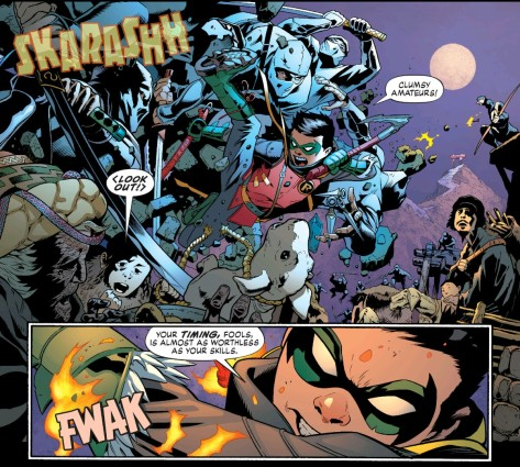 From Robin Son Of Batman Preview by Patrick Gleason