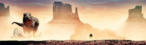 From Old Man Logan #1 by Andrea Sorrentino