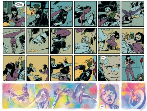 From All New Hawkeye #1 by Ramon Perez