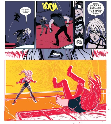 From Black Canary Sneak Preview by Annie Wu