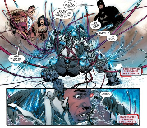 From Cyborg Sneak Preview by Ivan Reis