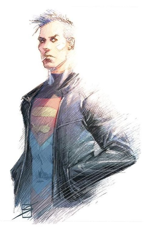 Superboy Ron Salas