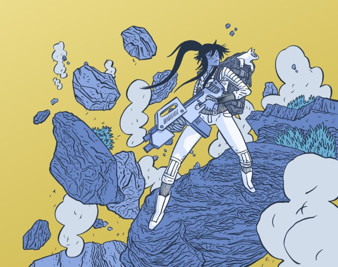 Advance Review of ApocalyptiGirl
