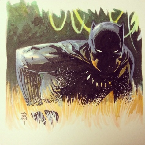 Black Panther Mike Henderson