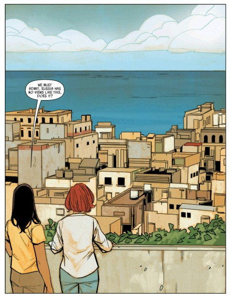 From Black Widow #19 by Phil Noto
