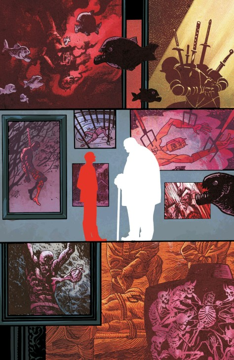 From Daredevil #16 by Chris Samnee