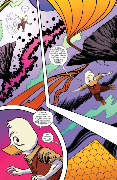 From Howard The Duck #4 by Joe Quinones
