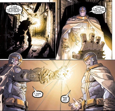 From Infinity Gauntlet #2 by Dustin Weaver