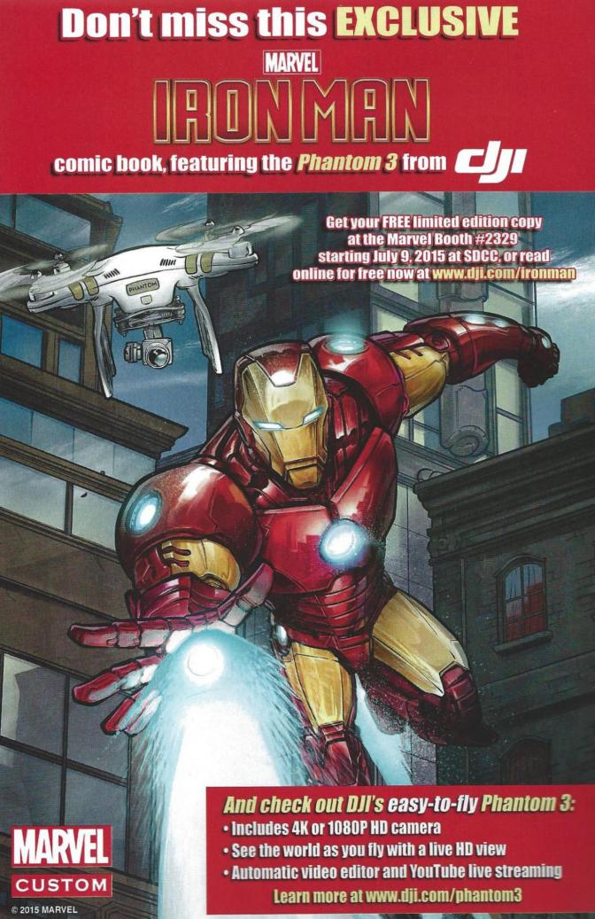 When Can We Read the Iron Man Phantom 3 Promotional Comic?