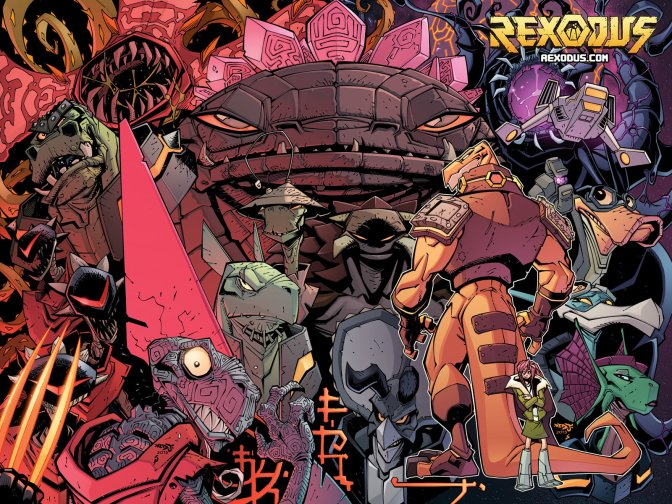 The Red Bee Investigates Rexodus