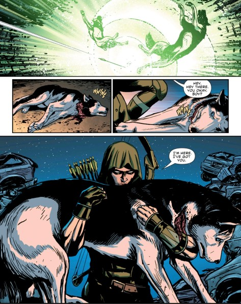 From Green Arrow #41 by Patrick Zircher