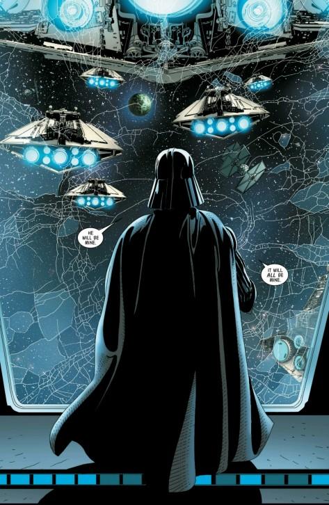 From Darth Vader #6 by Salvador Larroca
