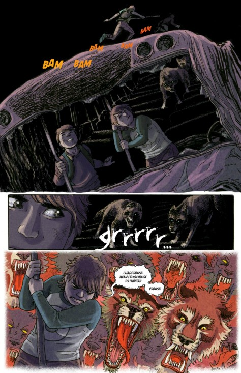 From No Mercy #3 by Carla Speed McNeil