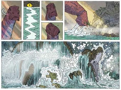 From Age of Reptiles Ancient Egyptians #1 by Ricardo Delgado