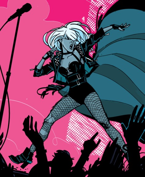 From Black Canary #1 by Annie Wu