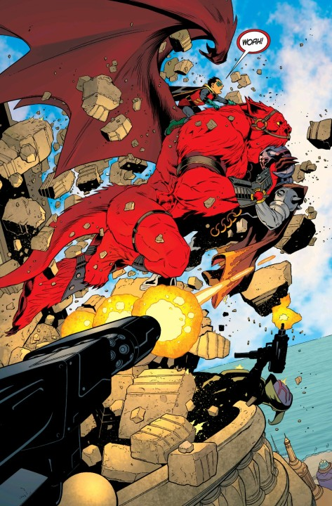 From Robin: Son Of Batman #1 by Patrick Gleason