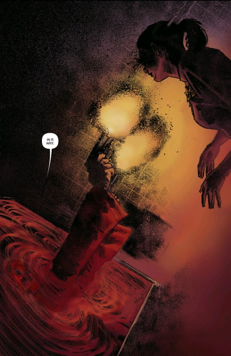 From Project Superpowers: Blackcross #3 by Coltran Worley