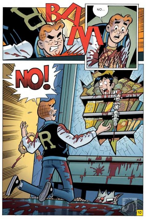 From Archie vs Predator #3 by Fernando Ruiz