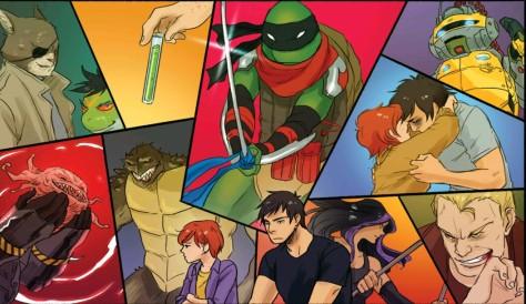 From Teenage Mutant Ninja Turtles: Casey & April #1 by Irene Koh