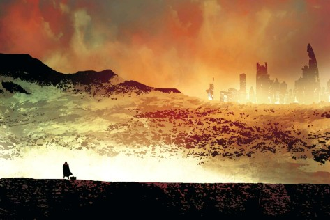 From Old Man Logan #2 by Andrea Sorrentino