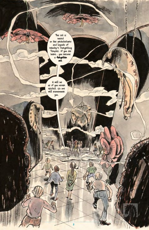 From Mind MGMT #34 by Matt Kindt
