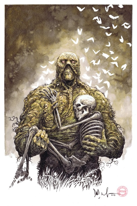 Swamp Thing Dave Watcher