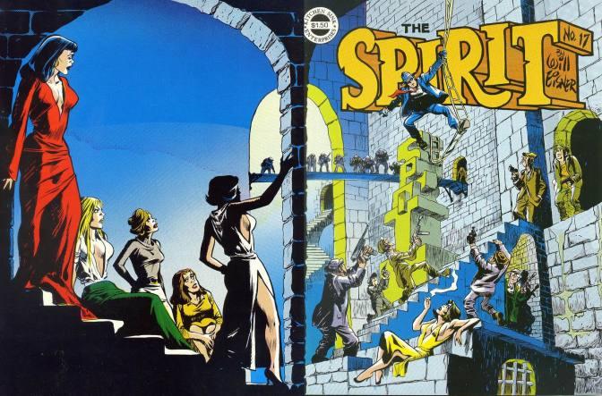 Tuesday Top Ten: Stories Starring the Spirit