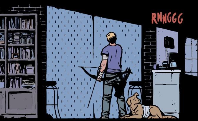 This Weeks Finest: Hawkeye #22