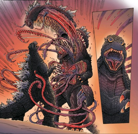From Godzilla In Hell #1 by James Stokoe