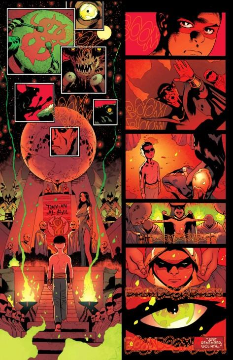 From Robin Son Of Batman #2 by Patrick Gleason