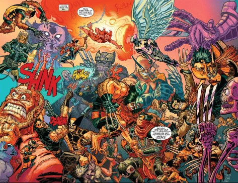 From Secret Wars: Battleworld #3 by Aaron Connelly
