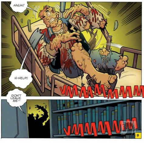 From Archie vs Predator #4 by Fernando Ruiz