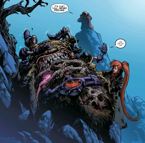 From Marvel Zombies #2 by Kev Walker