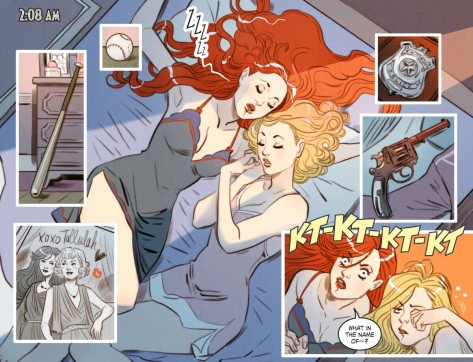 From DC Bombshells #1 by Marguerite Sauvage