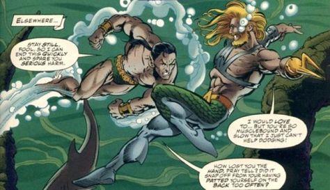 Aquaman Namor