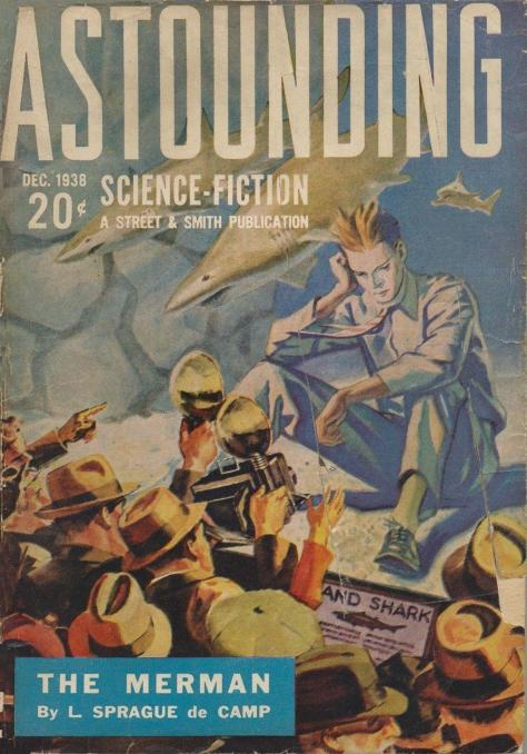 Astounding Science Fiction 1938 Merman