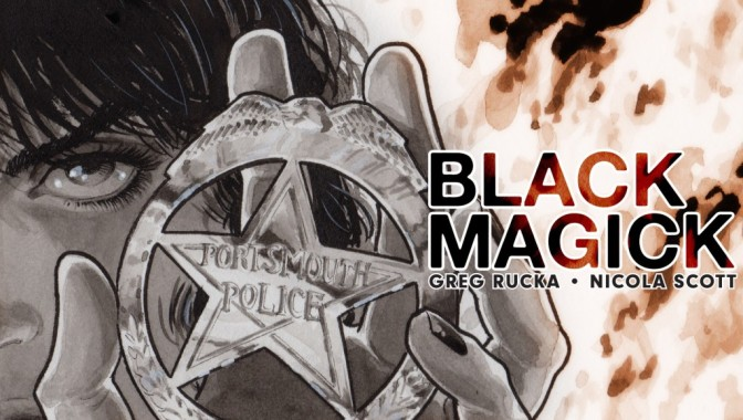 The Devil Asks Greg Rucka about BLACK MAGICK