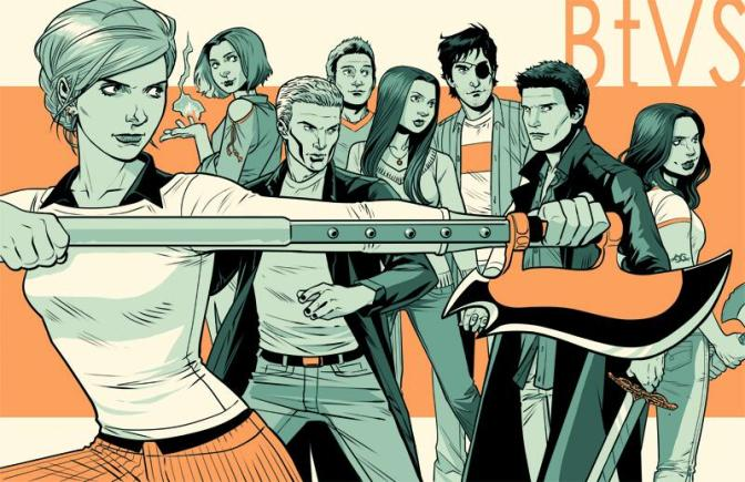 Twinterview with the Vampire: Artist Rebekah Isaacs Reveals Her Favorite BUFFY Character