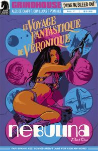 Grindhouse Drive In Bleed Out #2 Francesco Francavilla