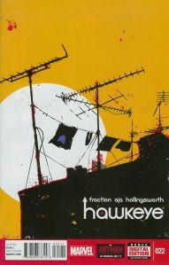 Hawkeye 22 David Aja