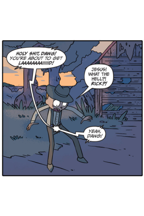 From Rick & Morty #4 by CJ Cannon