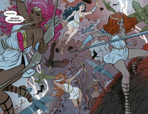 From DC Bombshells #2 by Marguerite Sauvage