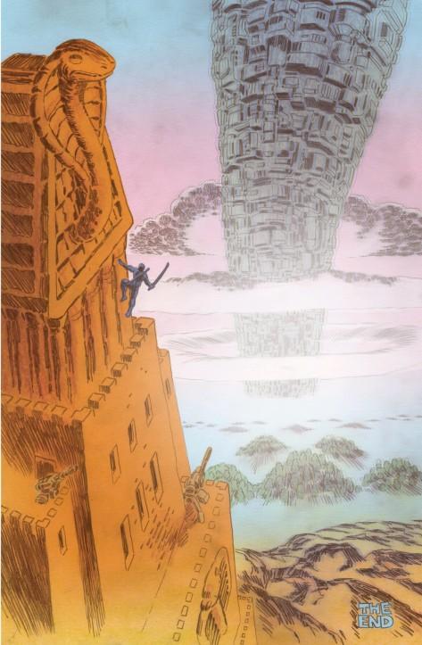 From Transformers vs GI Joe #8 by Tom Scioli