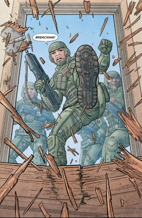 From We Stand On Guard #2 by Steve Skroce