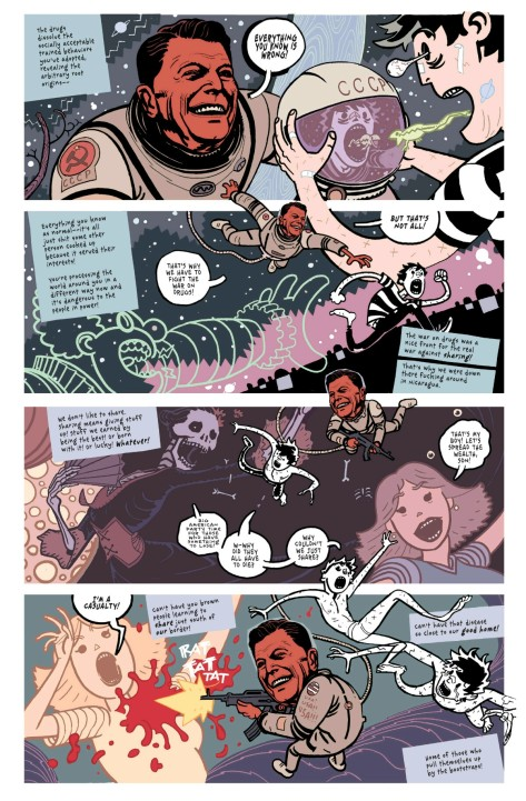 From Deadly Class #15 by Wes Craig