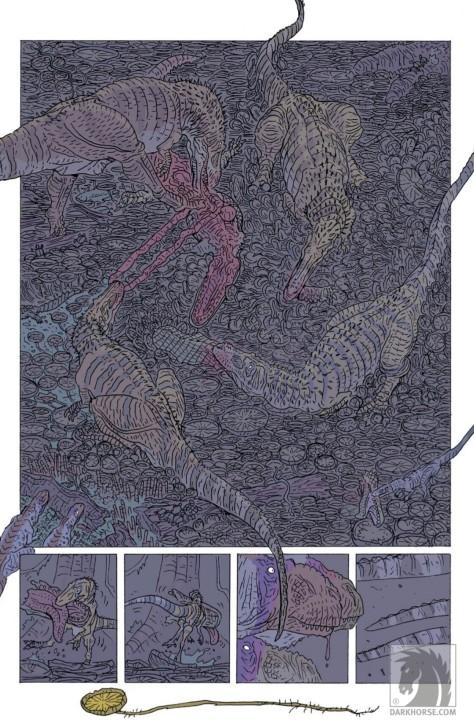 From Age of Reptiles Ancient Egyptians #3 by Ricardo Delgado